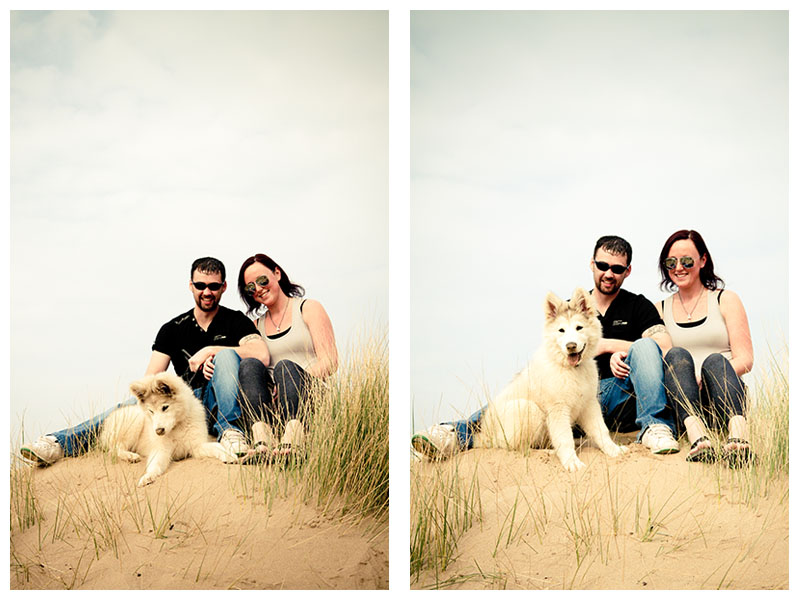 North Devon Wedding Photography | Nick and Jenna | E-Shoot Woolacombe beach
