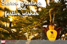 Festive greetings