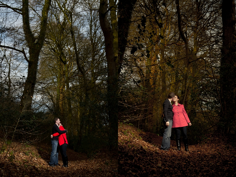 Amy and Huw | Woodland Engagement Shoot | Devon Wedding Photography