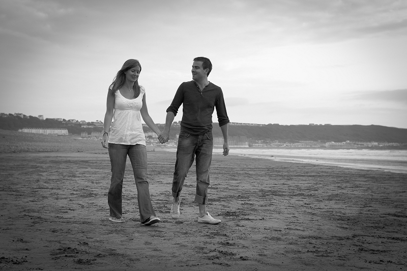 Caroline and Allan | Sunset stroll | North Devon Lifestyle Portrait Photography
