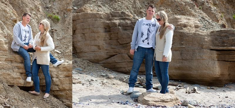 Emily and Chris | Sunny Saunton Beach | Engagement Photography
