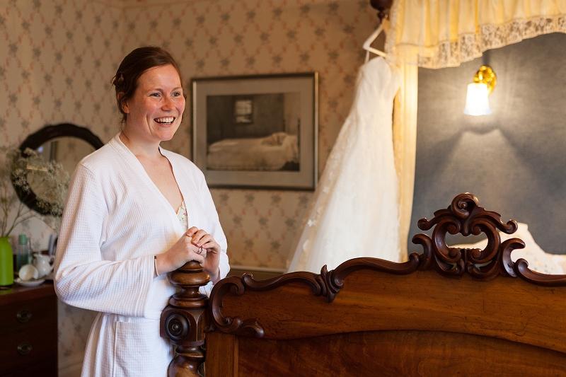 Harry and Kate   Hunters Inn Wedding   Exmoor Photographer   Devon Photography