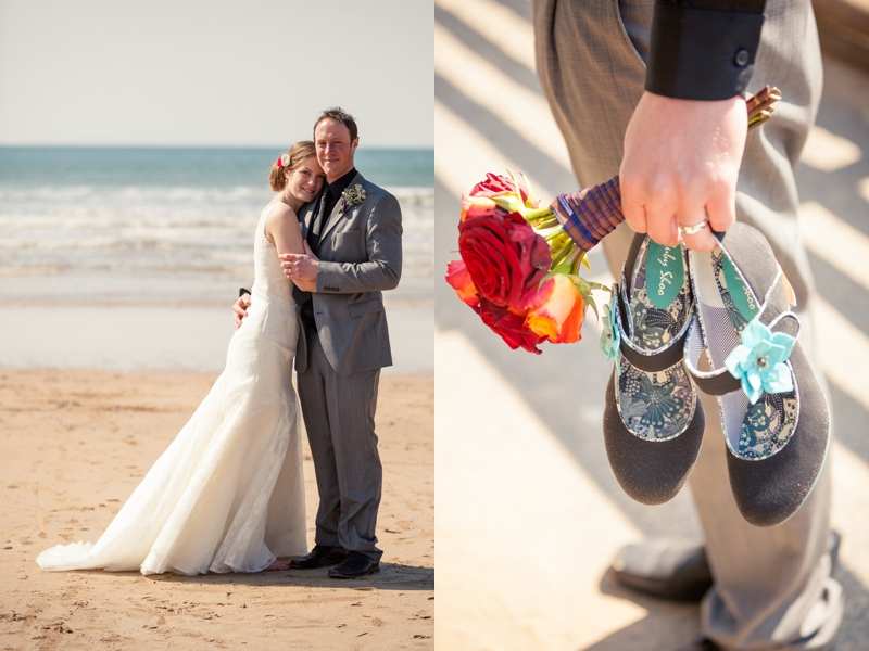 Dave and Naomi | Woolacombe | Wedding Photography