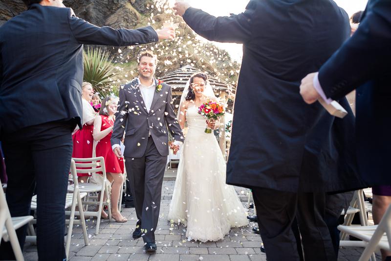 Anna and Cameron   Tunnels Beaches Wedding Photography   Devon