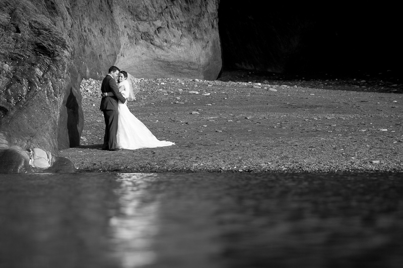 Anna and Cameron | Tunnels Beaches Wedding Photography | Devon
