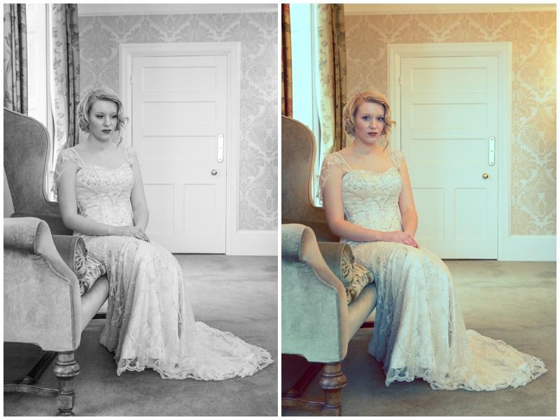 Matt Fryer Photography - Wedding Factor Editorial Shoot - Highbullen Hotel