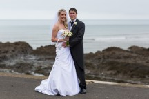 Ann and Chris, Pier House, Westward Ho! wedding photography, Matt Fryer