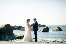 Tunnels beaches Wedding Photography - Matt Fryer Photography - Richard and Rachel